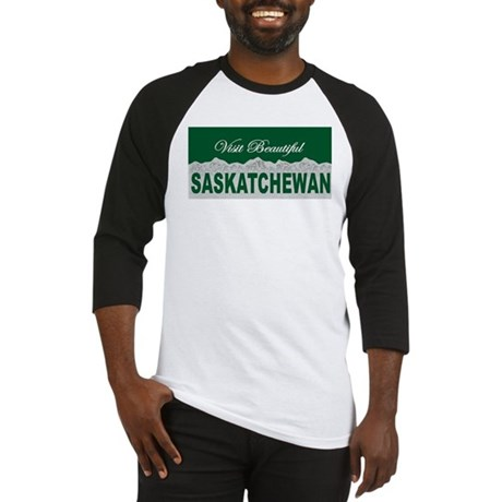 Visit Beautiful Saskatchewan Baseball Jersey