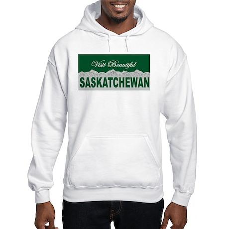 Visit Beautiful Saskatchewan Hooded Sweatshirt