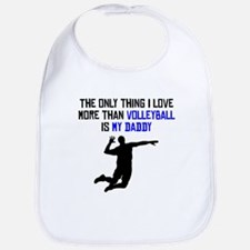 Volleyball Daddy Bib