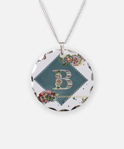 Dreamland Monogram B Necklace