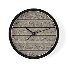 African Animals Wall Clock