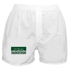 Visit Beautiful Saskatoon, Sa Boxer Shorts