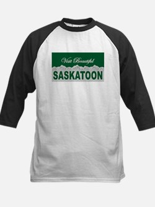 Visit Beautiful Saskatoon, Sa Kids Baseball Jersey