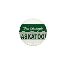Visit Beautiful Saskatoon, Sa Mini Button (10 pack