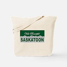 Visit Beautiful Saskatoon, Sa Tote Bag