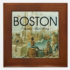boston2b Framed Tile