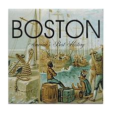 boston2b Tile Coaster