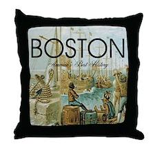 boston2b Throw Pillow