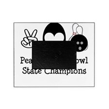 Peace Love Bowl State Champions Picture Frame