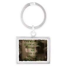 Defending Our Country Landscape Keychain