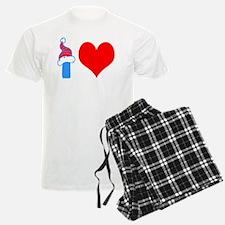 I Love Falconry Pajamas