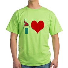 I Love Knee Boarding T-Shirt