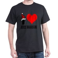 I Love Knee Boarding T-Shirt