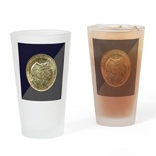 Battle of Gettysburg Half Dollar Co Drinking Glass