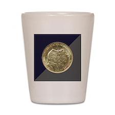Battle of Gettysburg Half Dollar Coin Shot Glass