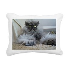 Colonel Meow surprise Rectangular Canvas Pillow