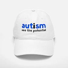 autismPoten1D Baseball Baseball Cap