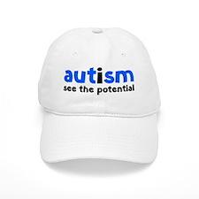 autismPoten1D Baseball Cap