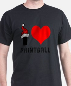 I Love Paintball T-Shirt