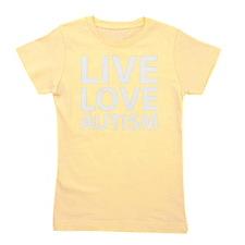 liveLoveAutism1B Girl's Tee