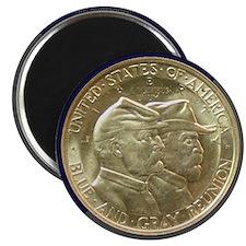 Battle of Gettysburg Half Dollar Coin Magnet