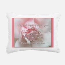 Breast cancer survivor Rectangular Canvas Pillow