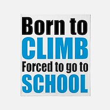 climb Throw Blanket