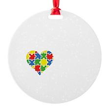 liveLoveAutism2B Ornament