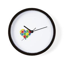 liveLoveAutism2B Wall Clock