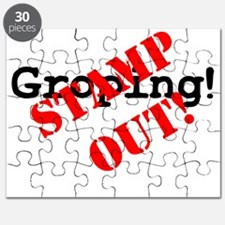 STAMP OUT - GROPING! Puzzle
