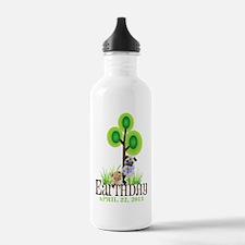 Earth Days PUGS 15 Water Bottle
