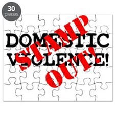 STAMP OUT - DOMESTIC VIOLENCE! Puzzle