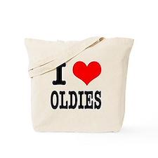 I Heart (Love) Oldies Tote Bag