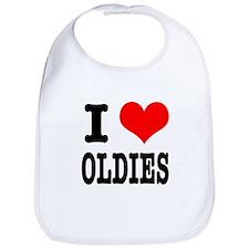 I Heart (Love) Oldies Bib