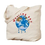 Earth Day ; Melting hot earth Tote Bag