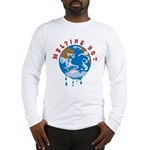 Earth Day ; Melting hot earth Long Sleeve T-Shirt