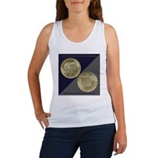 Battle of Gettysburg Half Dollar  Women's Tank Top