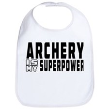 Archery Is My Superpower Bib