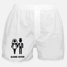 Game Over (Wedding / Marriage) Boxer Shorts