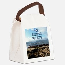 Ask Canvas Lunch Bag