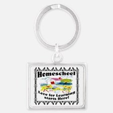 Homeschool Learning Landscape Keychain