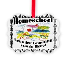 Homeschool Learning Ornament