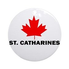 St. Catharines, Ontario Ornament (Round)