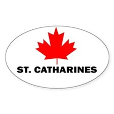 St. Catharines, Ontario Oval Decal