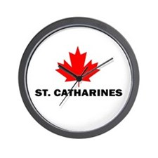 St. Catharines, Ontario Wall Clock