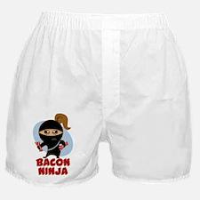 Bacon Ninja Boxer Shorts