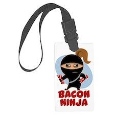 Bacon Ninja Luggage Tag