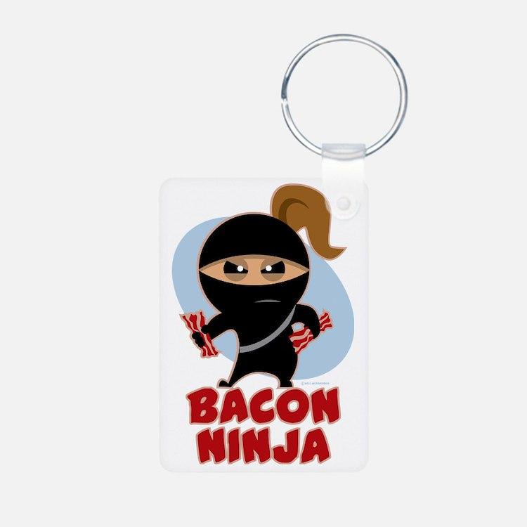 Bacon Ninja Keychains