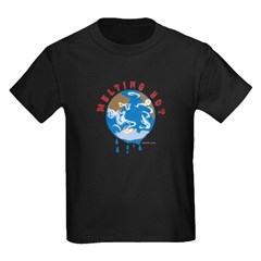 Earth Day ; Melting hot earth T