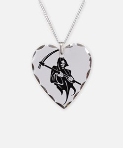 Death and Scythe Necklace